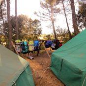 ¡Nos vamos de acampada!